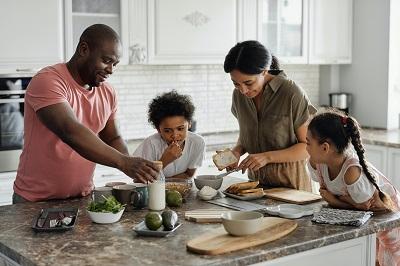 מטבח מעוצב משפחתי